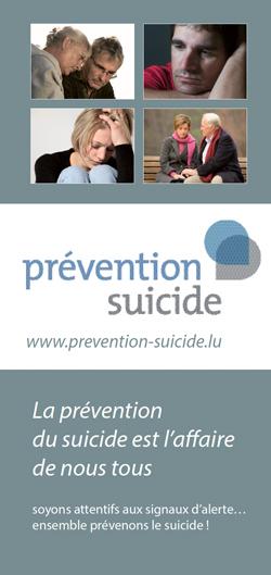 brochure prévention suicide Luxembourg